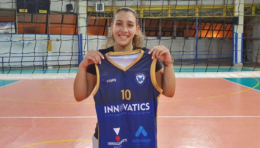 Polisportiva Salerno Guiscards, il team volley cala il tris con Miriam Loria
