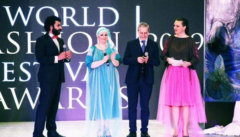 Il salernitano Pasquale Salsano nominato direttore artistico dell'evento WORLD FASHION FESTIVAL DUBAI