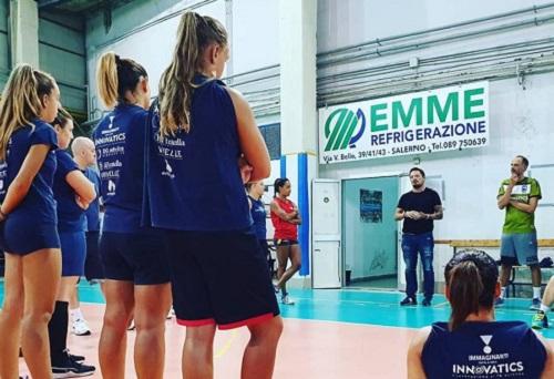 Polisportiva Salerno Guiscards, il Team Volley è stato inserito nel girone A del campionato di Serie C