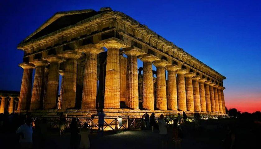 Si concludono gli appuntamenti di Campania by Night a Paestum
