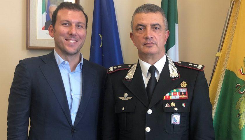 Caserma dei Carabinieri a Nocera Superiore: vertice tra il sindaco Cuofano ed il generale Stefanizzi