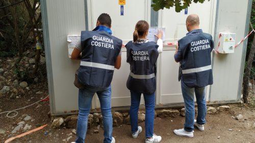 Sapri, smaltimento illecito di rifiuti: sequestrate 4 vasche presso un'officina