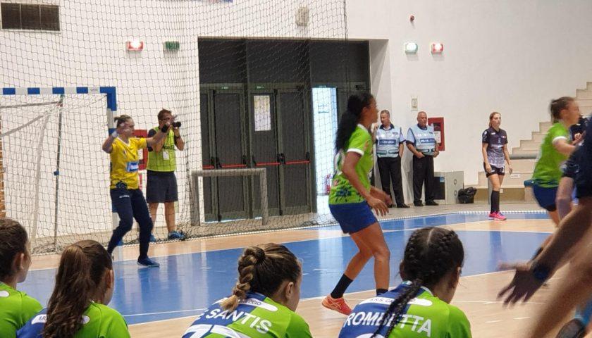 La Jomi Salerno regge il confronto con le quotate avversarie dello SCM Craiova nel match di ritorno della EHF Cup