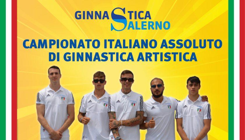 Ai Campionati Italiani Assoluti di Ginnastica Artistica 2019 gli atleti Campioni d'Italia di Ginnastica Salerno