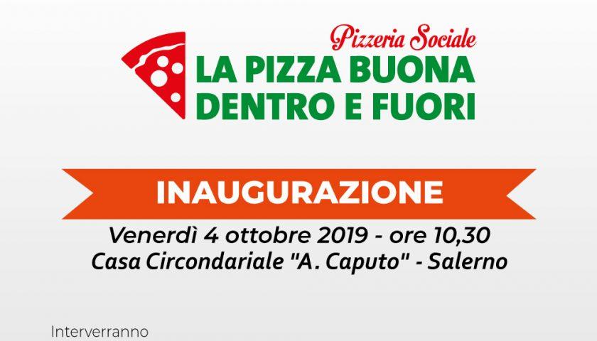 """Inaugurazione alla Casa Circondariale """"A. Caputo"""" di Salerno  della Pizzeria Sociale """"La Pizza Buona Dentro e Fuori"""""""