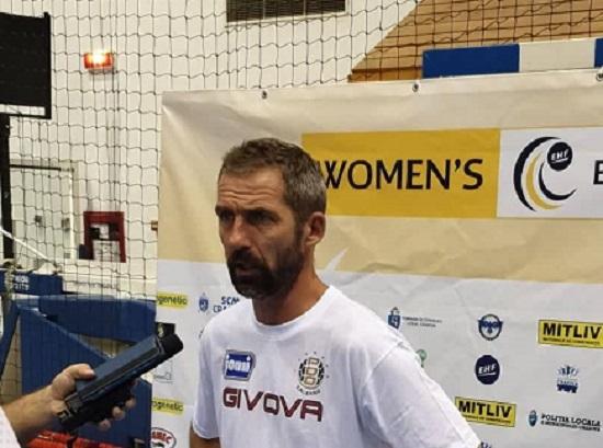 """Jomi Salerno, Neven Hrupec: """"Spero che i tifosi vengano in massa e ci aiutino in questo inizio di stagione"""""""