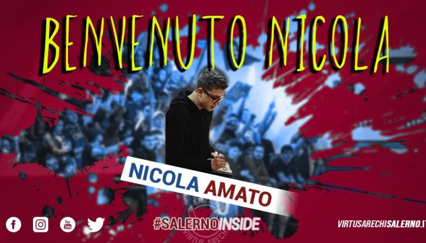 Nuovo arrivo in casa Virtus Arechi Salerno, ecco Nicola Amato
