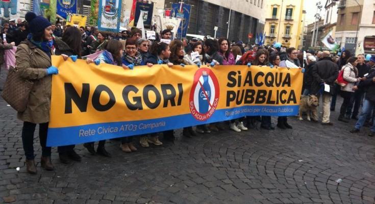 """Nocera Superiore, nuovo incontro per dire """"No alla Gori"""" in favore della ripubblicizzazione del servizio idrico"""