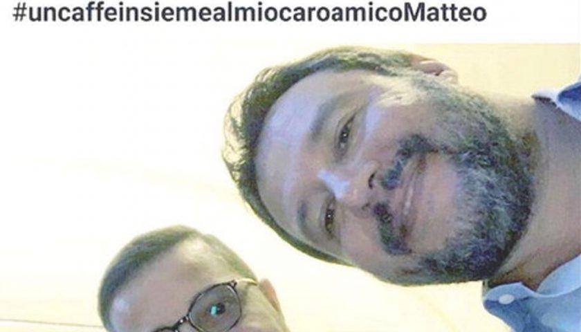 Il selfie di Salvini con figlio boss salernitano finisce alla Commissione Antimafia