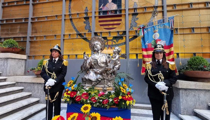 Salerno: San Matteo torna al Comune, la statua del patrono a Palazzo di Città