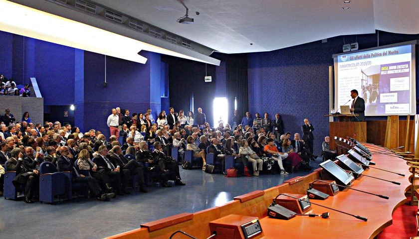 Università degli Studi di Salerno: il commiato di Aurelio Tommasetti