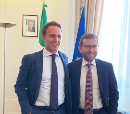 De Luca Jr incontra il ministro Provenzano per le politiche per il Mezzogiorno