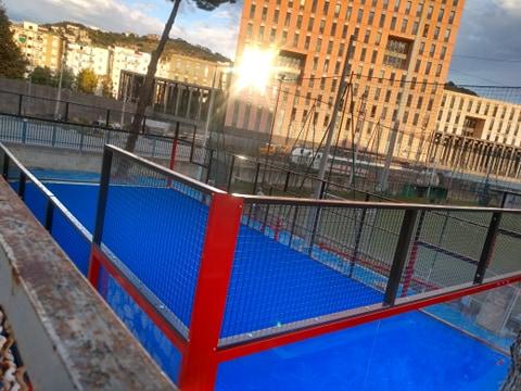 Salerno: al Dopolavoro Ferroviario nasce il primo campo di Paddle Tennis