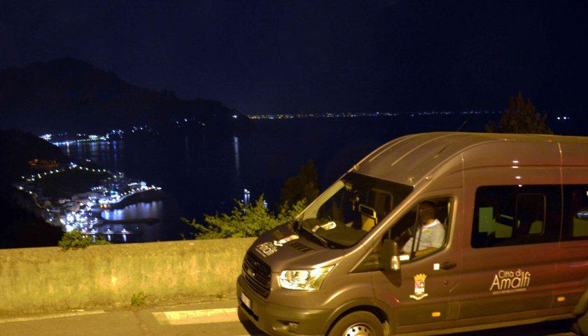 Amalfi, mobilità interna: prosegue anche d'inverno il servizio notturno per le frazioni e di domenica nel centro storico