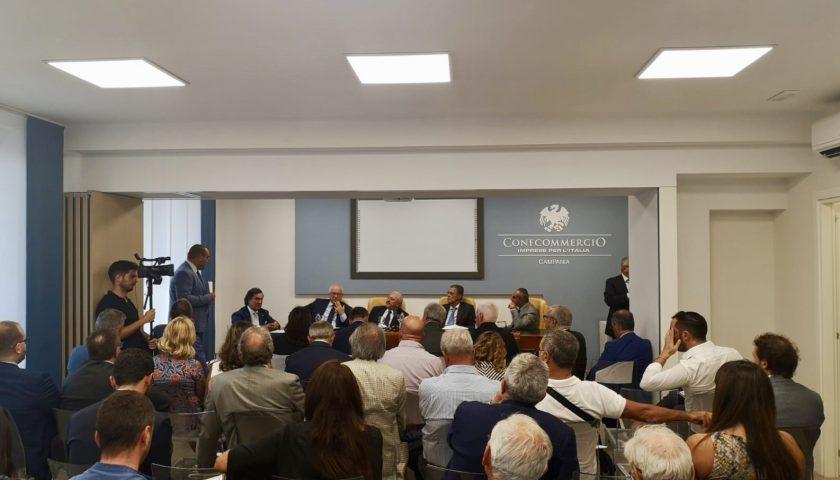 Confcommerico Salerno incontra il Governatore De Luca: Commercio, mobilità e turismo, logistica e trasporti i temi al centro della riunione