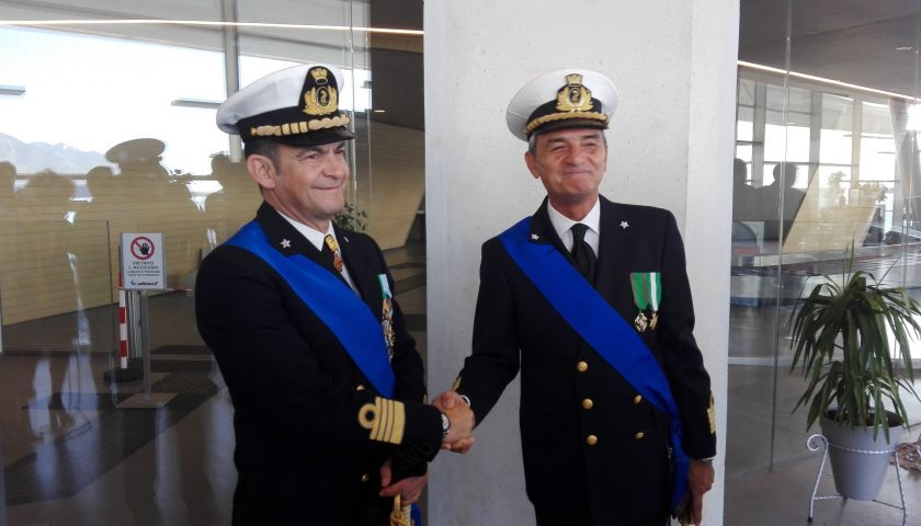 Salerno: stamattina la cerimonia del cambio al comando della Capitaneria di Porto
