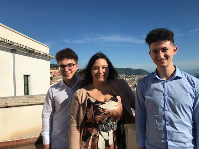 """Tre giovani pianisti del Conservatorio """"Martucci"""" debuttano al Festival di Ravello"""