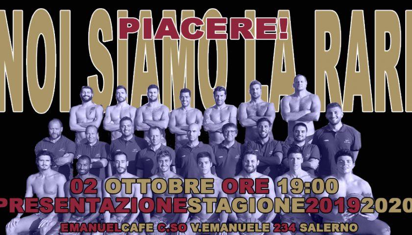 La Rari Nantes Salerno toglie i veli, domani la presentazione alla città