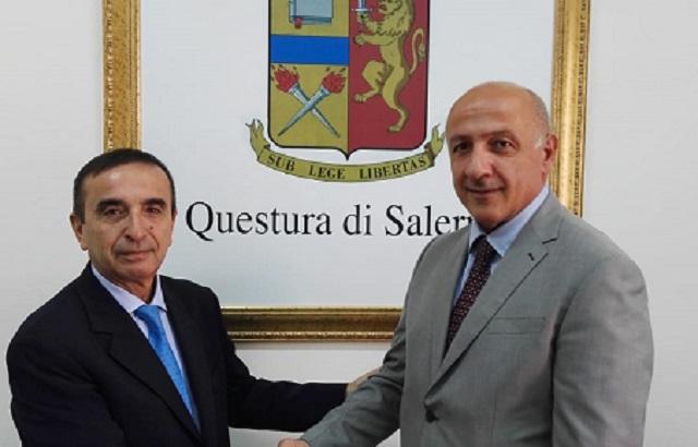 Nuovi arrivi in Questura: da Napoli il Vicario del Questore Pasquale Picone e da Avellino il dirigente dell'Ufficio del Personale Ornella Iorio
