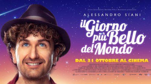 """Vuoi assistere gratuitamente all'anteprima del nuovo film di Alessandro Siani al """"The Space Salerno""""? Ecco come fare!"""