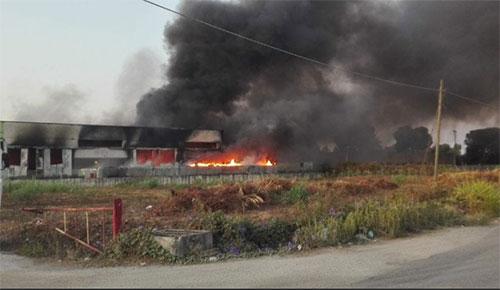 Salerno: consegnato da Confagricoltura al Prefetto un dossier sugli incendi dei rifiuti