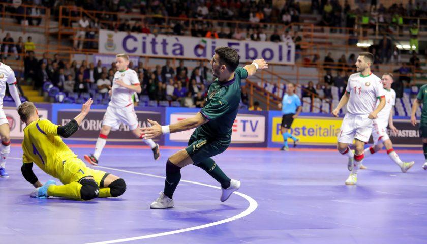 Calcio a Cinque: Main Round a Eboli, Italia di rimonta davanti a 2500 spettatori