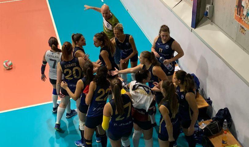 Saledil Guiscards, arriva una sconfitta all'esordio in Coppa contro la Volley Project Pontecagnano