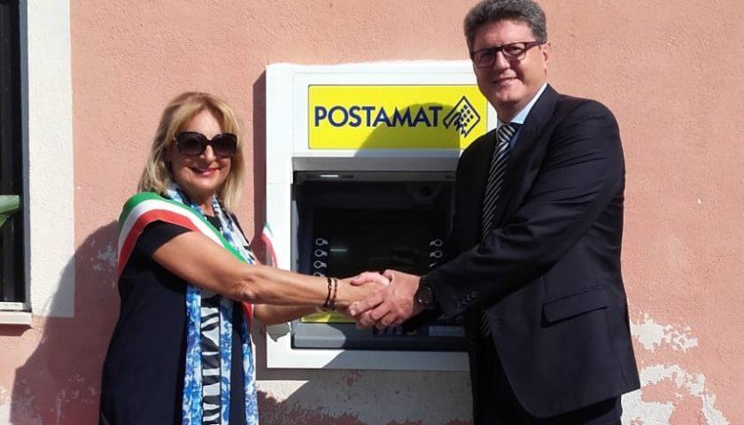 Ispani: installato il primo Postamat dell'ufficio postale di Capitello