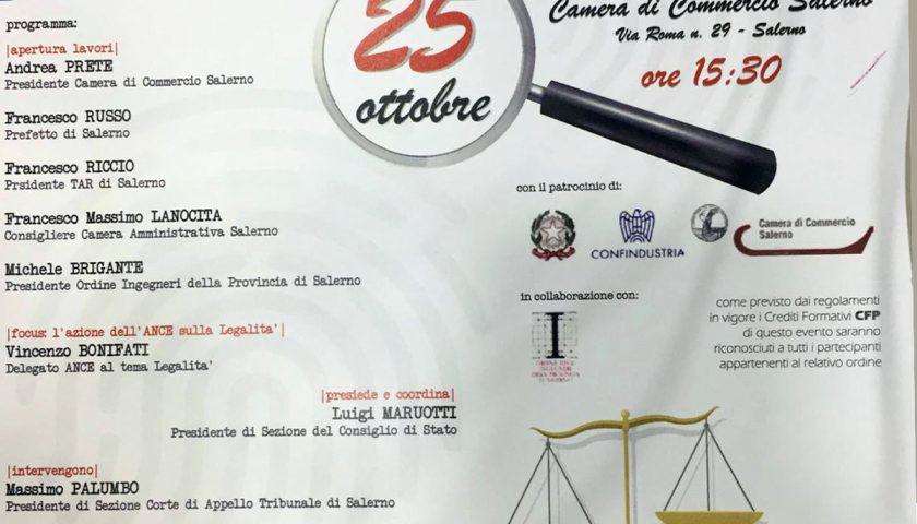 """Seminario """"Legalità e lavori pubblici: le misure di prevenzione nel codice antimafia e degli appalti"""""""