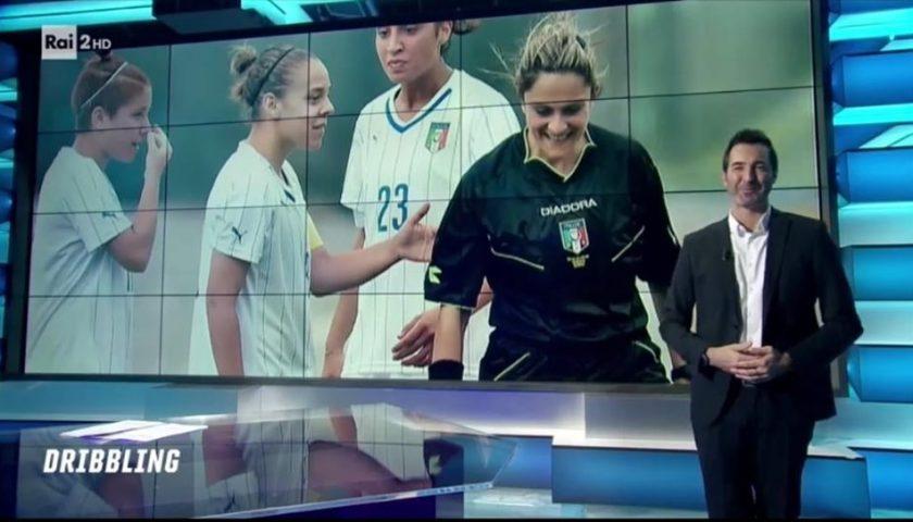 "L'arbitro cilentano Maria Marotta protagonista a ""Dribbling"" su RaiDue"