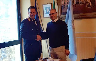 Massimiliano Falconeè il nuovo comandante della Polizia locale di Montecorvino Rovella
