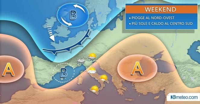 3B Meteo: weekend estivo per tutto il sud Italia con temperature sui 26/28 °C