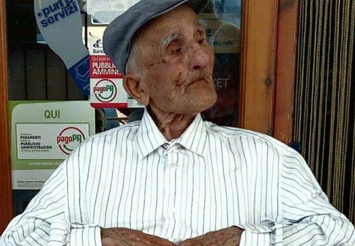 Compleanno da record a Sessa Cilento: 106 anni per zio Pietro Ferrazzano