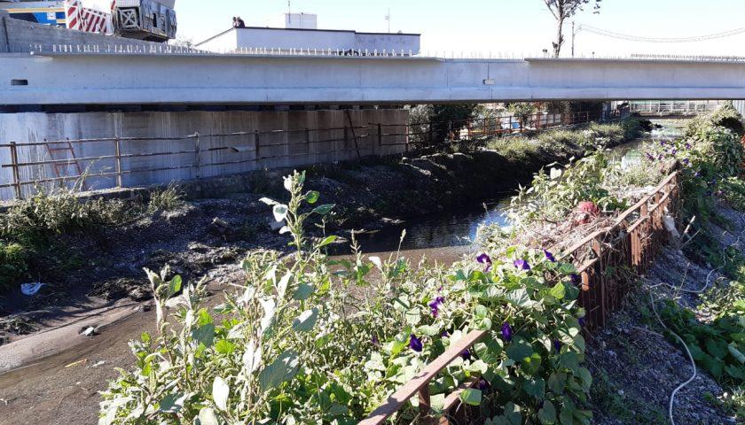 Provincia & Lavori: quasi completato il ponte sullo Sguazzatoio tra Angri, San Marzano sul Sarno e Scafati