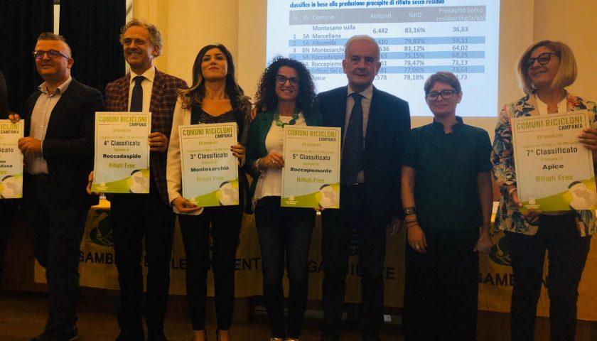 """Roccapiemonte premiato come Comune """"Riciclone"""" 2019"""