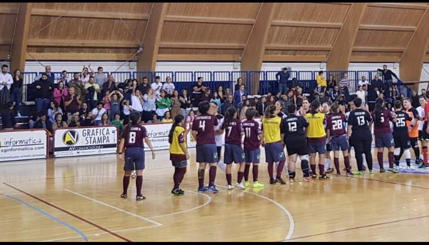 Salernitana ko di misura in casa, il derby è del Futsal Nuceria