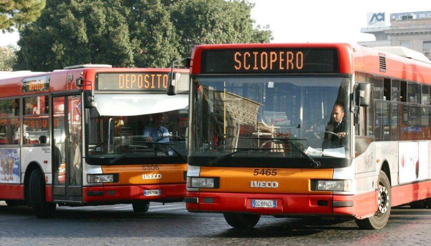 MEMO! Domani sciopero generale dei trasporti in tutta Italia!