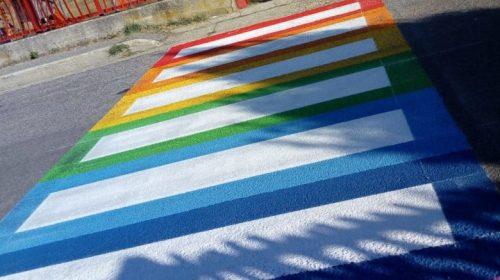 Agropoli, arrivano le strisce pedonali colorate