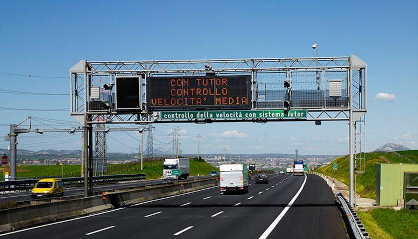 Autostrade, riattivati i Tutor su 87 tratte: ecco quali sono in Campania