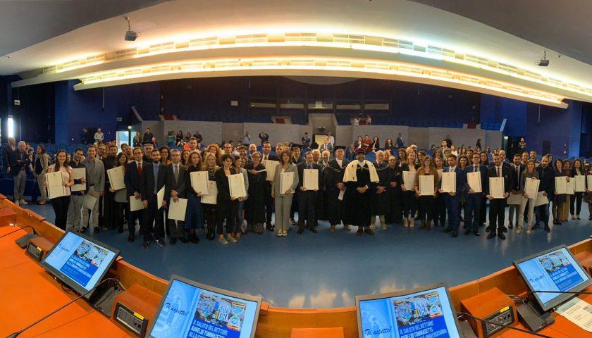 Università di Salerno Proclamati 94 neodottori di Ricerca