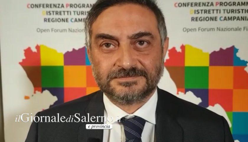"""Turismo, l'assessore regionale Matera al summit dei distretti turistici di Salerno: """"Mettere in campo strategie vincenti"""""""