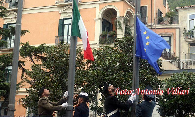 Celebrato anche a Salerno il 101° anniversario dell'Unità Nazionale e delle Forze Armate