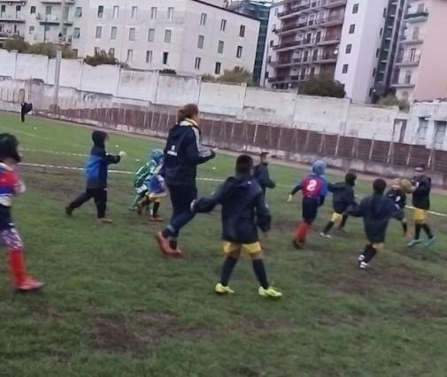 Arechi Rugby, grande successo per la festa del mini rugby