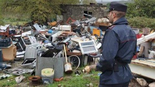 Rifiuti in localita' Molino Vecchio a Buccino, scatta il sequestro