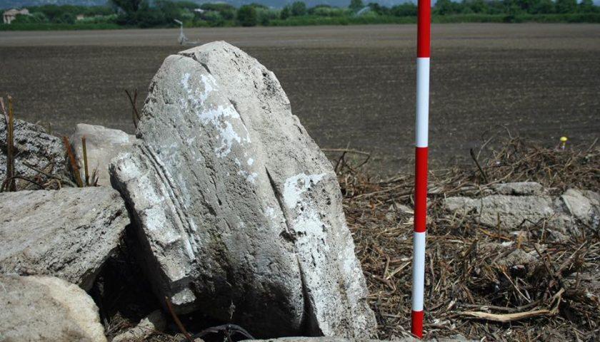 """Tempio dorico trovato a Paestum: c'è una traccia """"calda"""""""