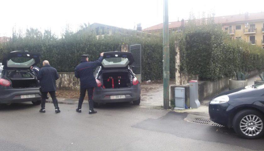 Task force dei carabinieri nella Valle dell'Irno: raffica di denunce per droga e furti