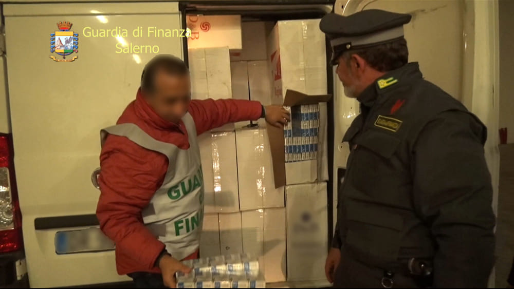 Contrabbandieri con il reddito di cittadinanza, altri 9 arresti a Salerno e provincia