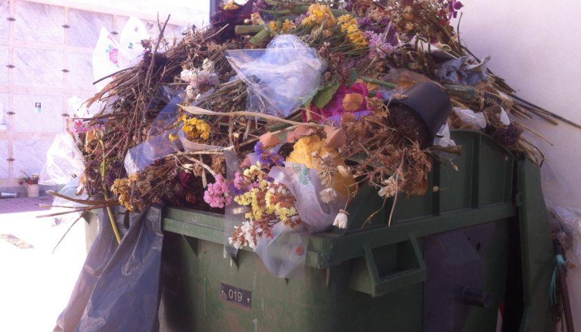 Rubano i fiori dalla tomba della figlia e li gettano nella spazzatura: denuncia ad Agropoli