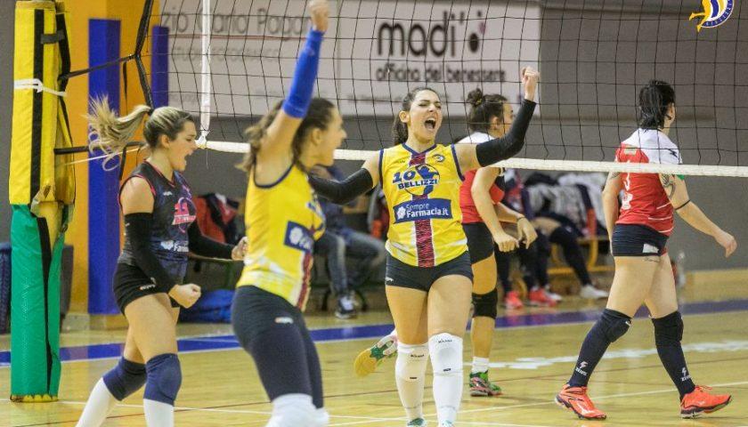Volley Bellizzi implacabile: battuto Marcianise al tie break