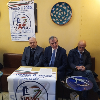 Cava de' Tirreni già in campagna elettorale, Murolo si candida a sindaco